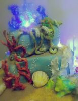 abyss cake by rosecake