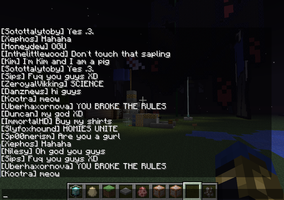 How not to feel loney in Minecraft by AngryEmo