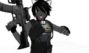 MMD It's CAPTAIN Lucas to you BUDDY! by MMDFuph