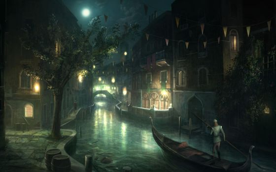 Assassin's Creed 2 Venice Waterways by applejack324