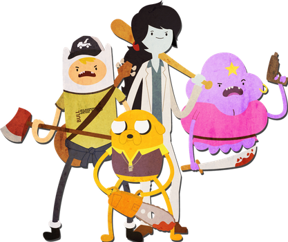 Adventure time meets Left 4 Dead by Sindorman