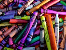 Old Crayons by ppdigital