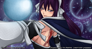 fairy Tail - Time mage Ultear - rework by graypapaya