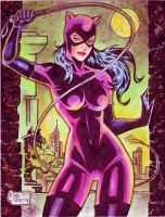 Catwoman (#2) by Rodel Martin by VMIFerrari