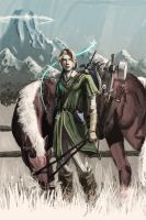 Link and Epona by nbashowtimeonnbc