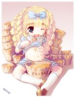 GLUTTONUS GOLDILOCKS by B0RN-T0-DIE
