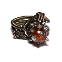 Steampunk Ring Full Steam by CatherinetteRings