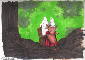 Mouse in Forest by rohwer
