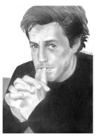hugh grant by elfinpirate