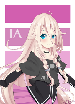 Vocaloid IA: Mouse Drawing by CuteNerdChick