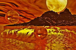 Fire On The Water by Hillbillygirl