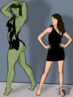 She-Hulking3 by Siriux