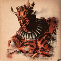 Darth Maul by nicollearl