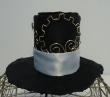 mini steampunk style top hat by h2opologirl777