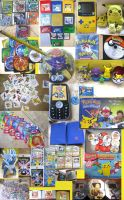 My Pokemon Collection by MumbletotheSky