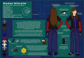Naomi Wiflath: Human Ref Sheet by Naeomi