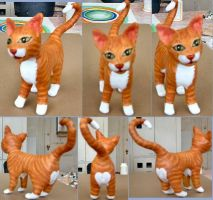 Kitty Cat Sculpture by Soniafm1027