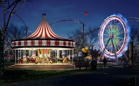 The Carnival by kulayan3d