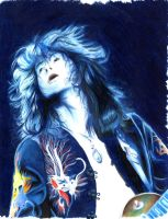 Jimmy Page by aeroartist