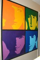 Beatles Wall Art Finished by tinabob