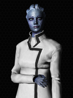 Elder Portraits: Liara T'Soni by Just-Jasper
