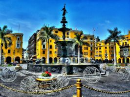 Old Town of Lima I by pingallery