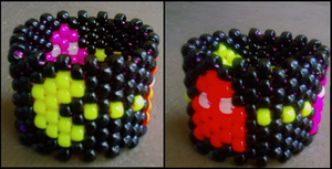 Pacman Cuff by never-and-never