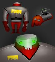 robot concept by rampho