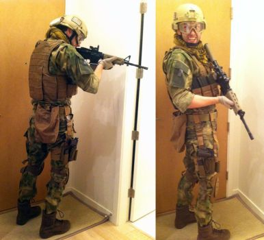 My Airsoft Load out by BrothaJeff