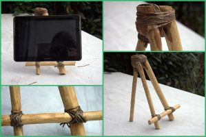 Wooden Tablet stand by Engelina-c