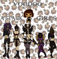 Voodoo Attack Girls by Space-Drive-Overdose