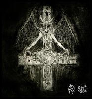 baphomet by ayillustrations