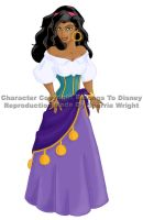 Esmeralda, Gypsy by literary-magic