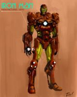 Iron Man: Invincible Upgrade by ninjaink