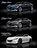 Mazda Shinari Super Coupe by wingsofwar