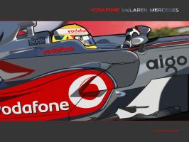 Lewis Hamilton MP4-23 by mclaren-mercedes-f1