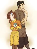 Bolin and Jinora by Staccia