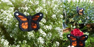 Monarch Butterfly (Needle Felted) by Seamarie