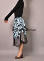 Blue Victorian Pleated Skirt15 by yystudio