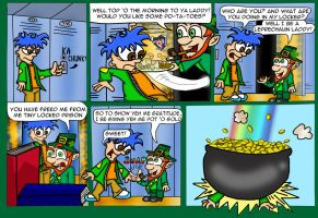 Homey: The Luck O' the Irish by blue-shadow24
