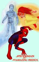Spidey and his Amazing Friends by Rene-L