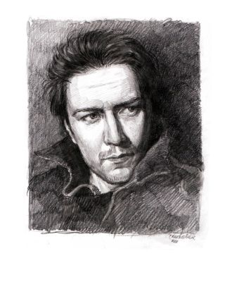 James McAvoy by Marsellia