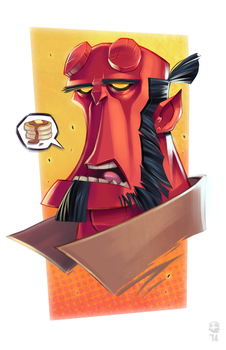Hellboy by GhostHause