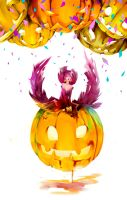 Pumpkin party by DarkMusli
