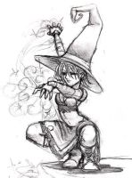 Witch by Kit-Kat-Choco