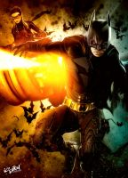DARK KNIGHT - LEGENDS by isikol