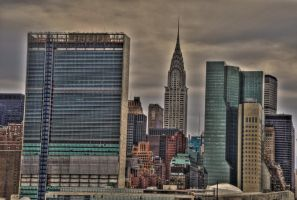 NYC HDR IX by xernex