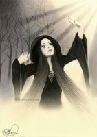 Darkness turns into Light by Rajacenna