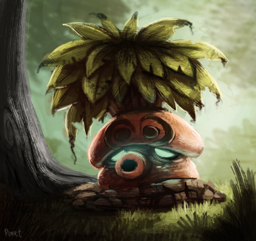 DAY 208. Octorok (35 Minutes) by Cryptid-Creations