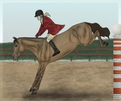 Dusting Off The Cobwebs by WB-Equine-Art